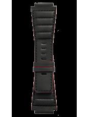 Armband aus schwarzem gestepptem Kalbsleder B-Rocket BR-X1 - BR 01 - BR 03.