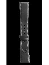 Armband aus schwarzem Kalbsleder BR 123 - BR 126 - BR V2.