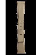 Bracelet en cuir de veau de couleur beige Desert Type BR S