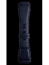 Bracelet en cuir de veau de couleur bleu marine  BR 01 - BR 03 - BR-X1