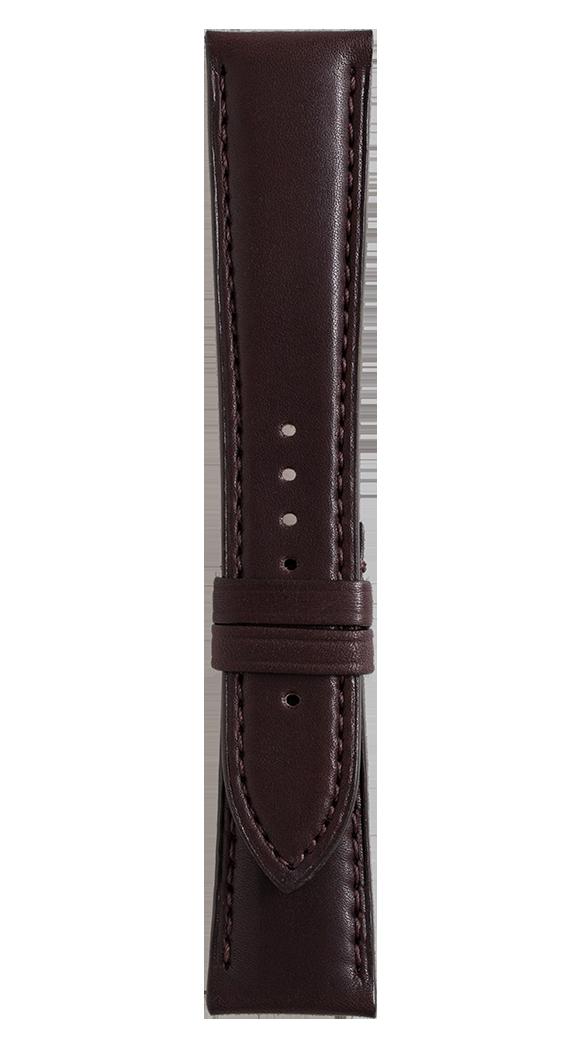 Correa de piel de becerro marrón para relojes BR 123 - BR 126 - BR V2.