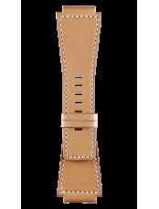 Bracelet en cuir de veau de couleur naturelle Heritage BR-X1 - BR 01 - BR 03