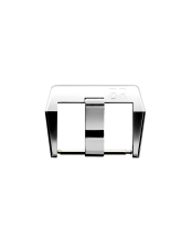 BR 123 - BR 126 - BR V2 satin-finished steel pin buckle