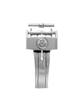 BR 123 - BR 126 - BR V2 satin-finished steel semi-folding buckle